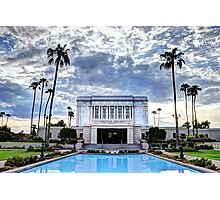 MESA TEMPLE LDS MORMON Photographic Print
