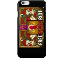 Free Pussy Riot Now iPhone Case/Skin