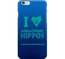 I Heart Animatronic Hippos (AAHCS) iPhone Case/Skin