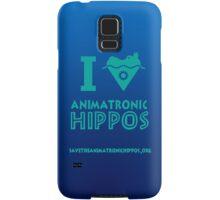 I Heart Animatronic Hippos (AAHCS) Samsung Galaxy Case/Skin