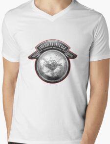 AMERICAN VINTAGE PACKARD PRESTIGE HUBCAP Mens V-Neck T-Shirt
