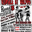Rumble at Ralph's Round 3 Flyer 2011 by graceblack