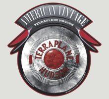 AMERICAN VINTAGE TERRA PLANE HUDSON HUBCAP by Larry Butterworth