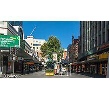 Rundle Mall - From Pulteney Street Intersection Photographic Print