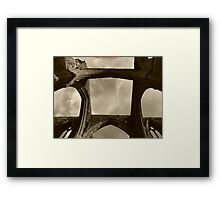 Mood of arches Framed Print