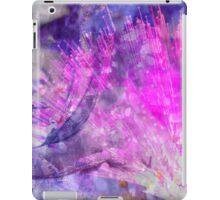 Electro floral iPad Case/Skin