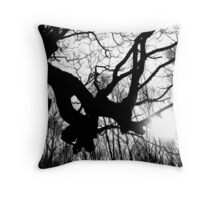In Woodlands Throw Pillow