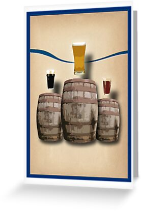 Beer Awards Podium by CarlDurose