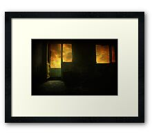 Room 9 Framed Print