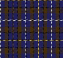 00714 Ancient Atlantic Fashion Tartan Fabric Print Iphone Case by Detnecs2013