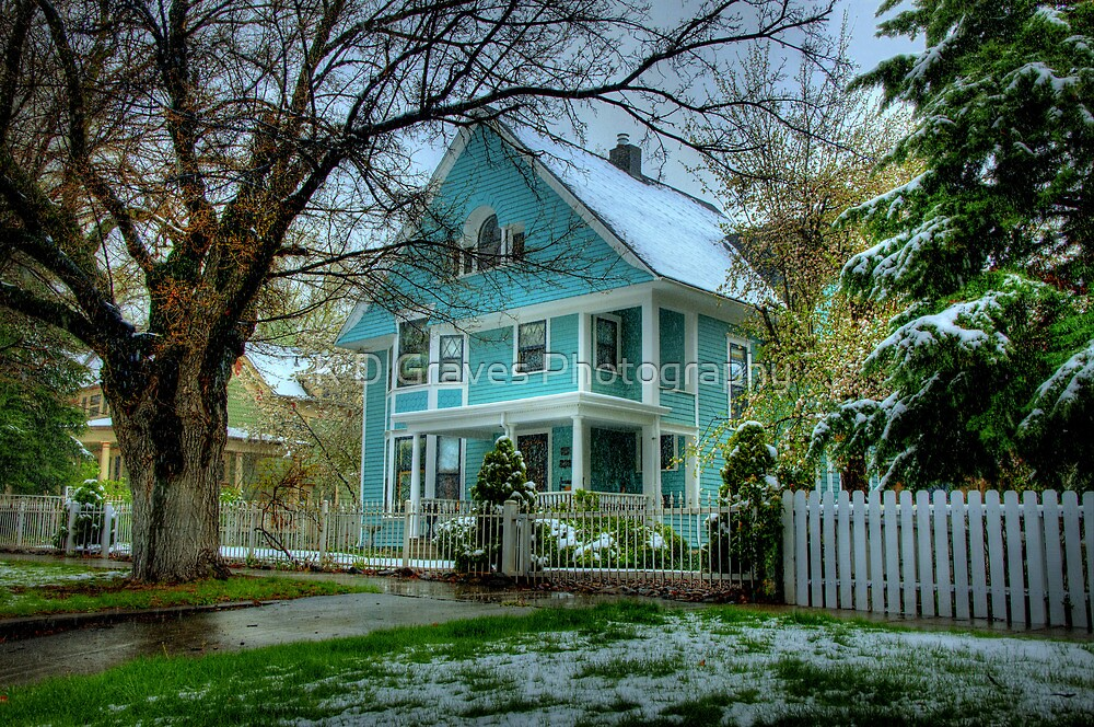 Blue Victorian by Diana Graves Photography