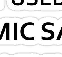 Comic Sans Sticker