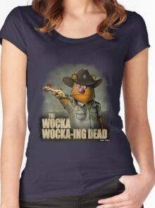 The Wocka Wocka-ing Dead Women's Fitted Scoop T-Shirt