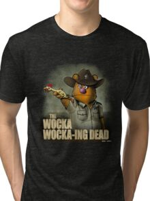 The Wocka Wocka-ing Dead Tri-blend T-Shirt