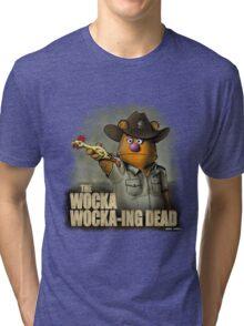 The Wocka Wocka-ing Dead Tri-blend T-Shirt