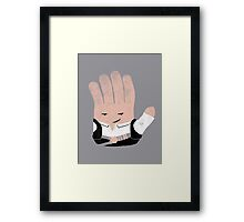 Hand Solo Framed Print