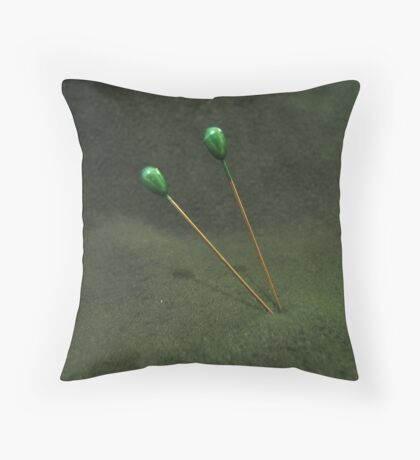 Neat as ... Throw Pillow