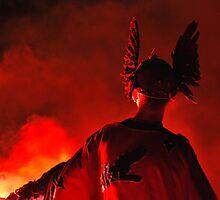 Red Torcher by NordicBlackbird
