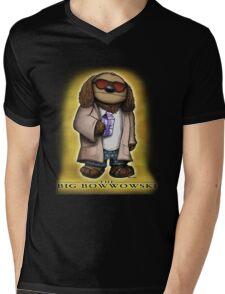 The Big Bowwowski Mens V-Neck T-Shirt