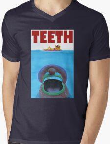 TEETH Mens V-Neck T-Shirt