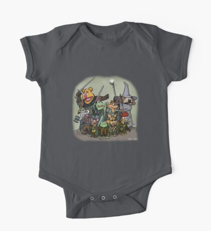 Fellowship of the Muppets One Piece - Short Sleeve