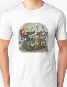 Fellowship of the Muppets Unisex T-Shirt
