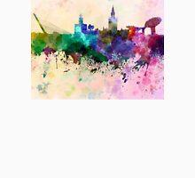 Seville skyline in watercolor background Unisex T-Shirt