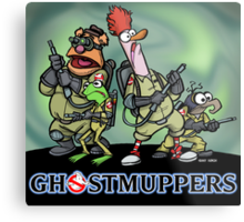 Ghostmuppers Metal Print