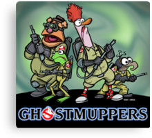 Ghostmuppers Canvas Print