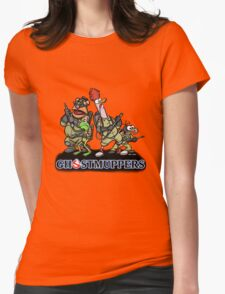 Ghostmuppers Womens Fitted T-Shirt