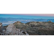 Earth Shadow - Aguereberry Point Photographic Print