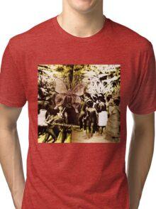 First Nations Butterfly Tri-blend T-Shirt