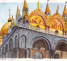 San Marco Venezia by Dai Wynn