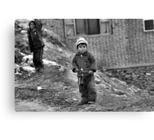 Afghanistan B&W Collection: HORBW0015 Canvas Print