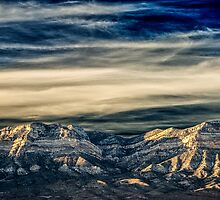 Fly Away With Me - Nevada Sunset by Gregory J Summers
