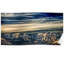 Fly Away With Me - Nevada Sunset Poster