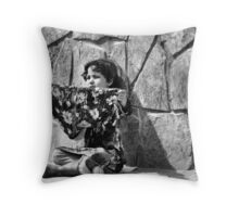 Afghanistan B&W Collection: HORBW0027 Throw Pillow