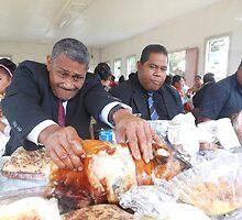 Tongan Sunday Feasting by Natalie  Montanaro