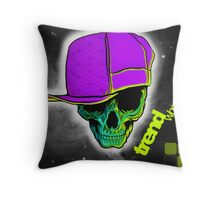 trend whore Throw Pillow