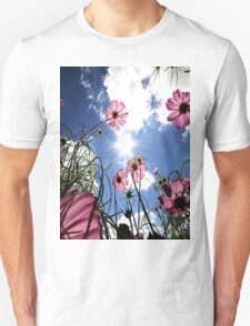 Flowers look to the sky Unisex T-Shirt