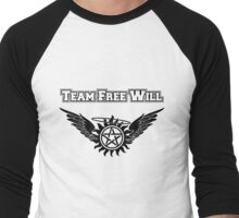 Team Free Will Shirt Men's Baseball ¾ T-Shirt