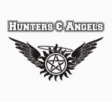 Hunters & Angels Shirt by HarmonyByDesign