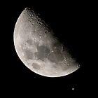 Moon Jupiter Conjunction, Feb 18 2013 by Stephen Permezel