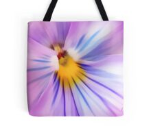 Party Time Pansy Tote Bag