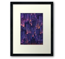 Midnight City Framed Print