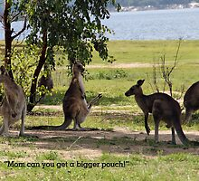 Bigger pouch mom by Jon de Graaff