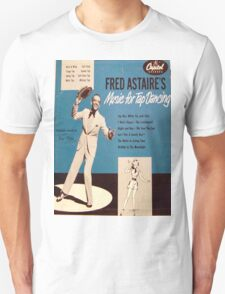 Fred Astaire's Music for Tap Dancing Unisex T-Shirt