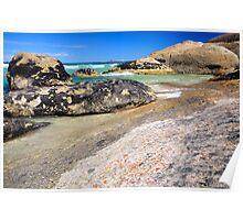 Rockpools - Squeaky Beach Wilsons Promontory, Victoria, Australia Poster