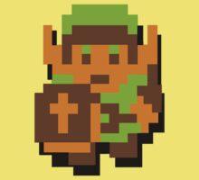 Zelda Link Nintendo 8 - bit Baby Tee
