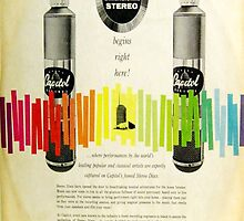 Capitol Full Dimensional Stereo, 1950's Inner Sleeve by Vintaged